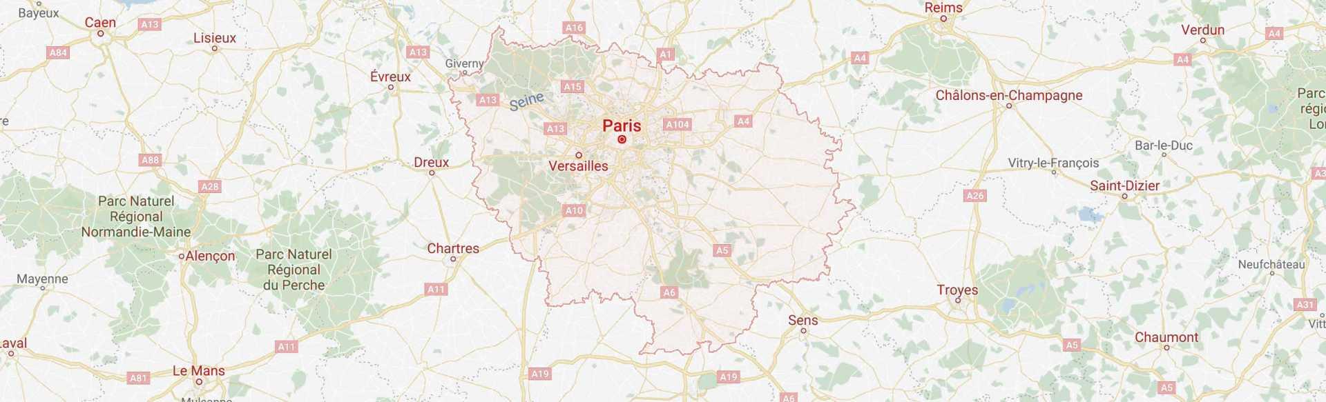 C'Tendu Design se déplace dans le secteur de Vincennes et de Chennevières-sur-Marne et sur toute l'ile de France